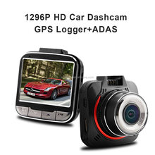 Car DVR 170 Degree Wide Angle View Mini Windshield 1296P Ambarella A7 GPS Car Dash Cam 2017