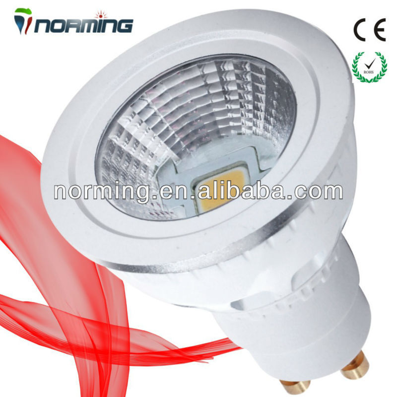 Patent Design Sharp COB 5W LED GU10 Dimmable Spot Light 2700K Lighting Theatre LED