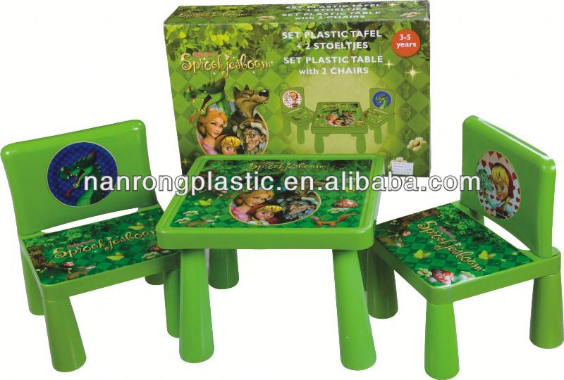 2013 New style wholesale high quality plastic children table and chair evenflo high chair pads