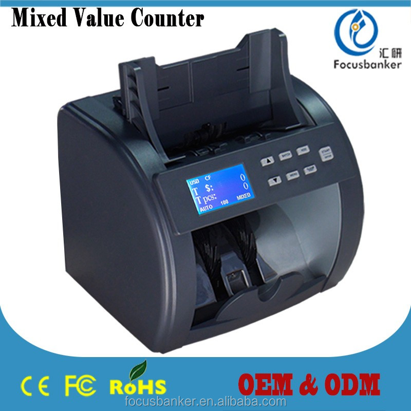 Currency Counter/Money Detector/Bill Sorter/Banknote Counting Machine with CIS for Bosnia and Herzegovina convertible mark(BAM)