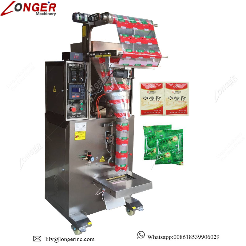 Price Auto Spices Milk Washing Coffee Masala Cocoa Turmeric Tea Powder Small Sachets Filling Detergent Powder Packing Machine