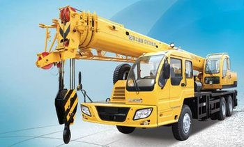 XUGONG hydraulic mobile crane for sale, 20 tons, A half bridge head