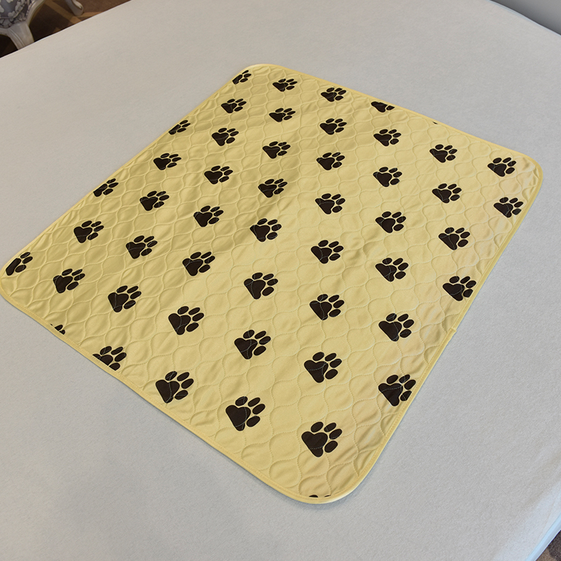 reusable/washable pet pee pad puppy training underpad absorb dog pads/mats