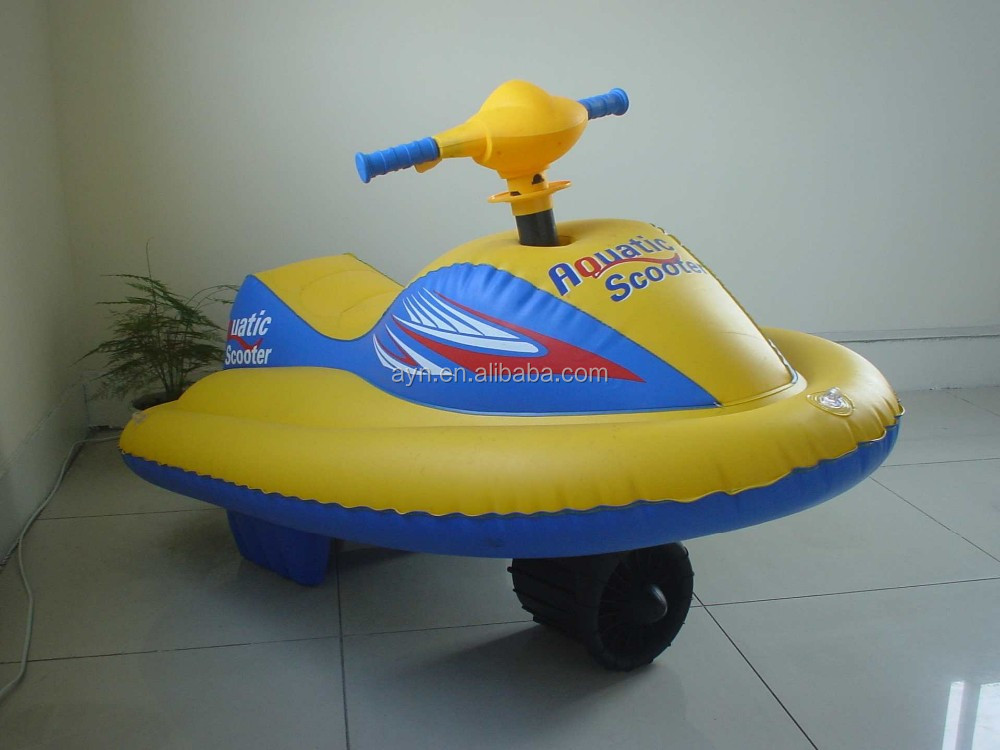 Kids Electric Inflatable Aquotic Scooter Motor Boat