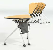 Function Table with Wheels Foldable Office Desk