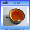 sewing foldable portable outdoor pet traveling food bowl
