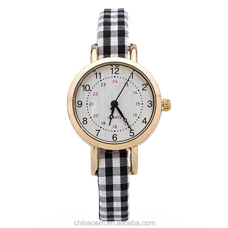 Lady Leather Strap Quartz Watches Fashion Bracelet Women Dress Watches Reloj Mujer 2015 Hot Sale