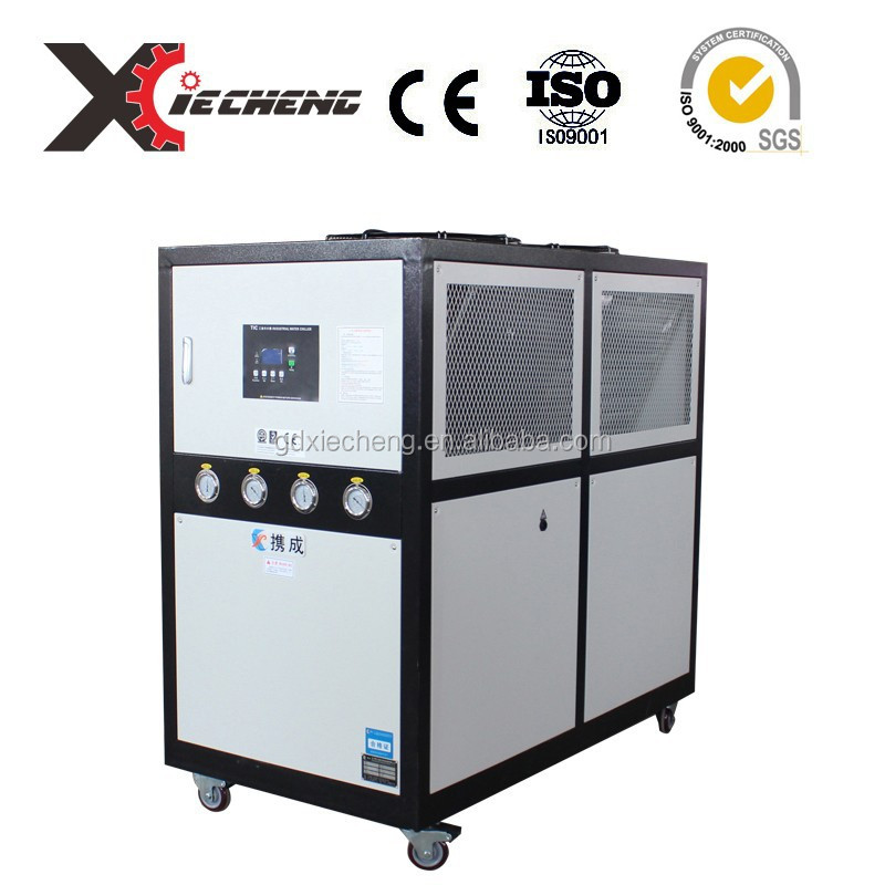 refrigerator gas r22 chiller freezer water cooling machine in indsutrial chiller