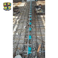 Building armoured floor expansion joint system caulk