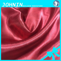100D*75D smooth satin fabric for material to make chair covers