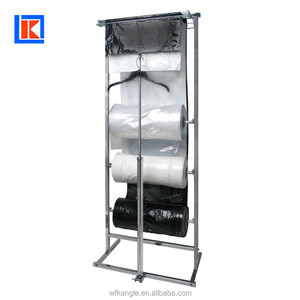 Factory New Material Clear Printing LDPE Suit Dress Garment Cover Bag on Roll