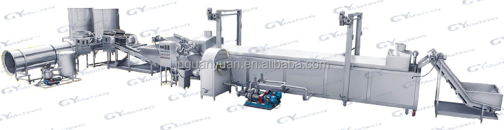 Small potato chips machine/ small potato chips production line/ french fries potatoes making line