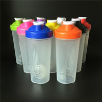 Stylish 600ml Smart Shake, Gym Protein Shaker, Mier Cup Drink Whisk Bottle