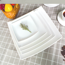 Guangzhou Tableware Set Wholesale Melamine Dinner Square Plate