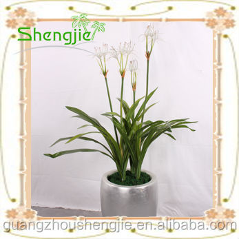 Artificial flowering shrubs ornamental orchids plants bonsai