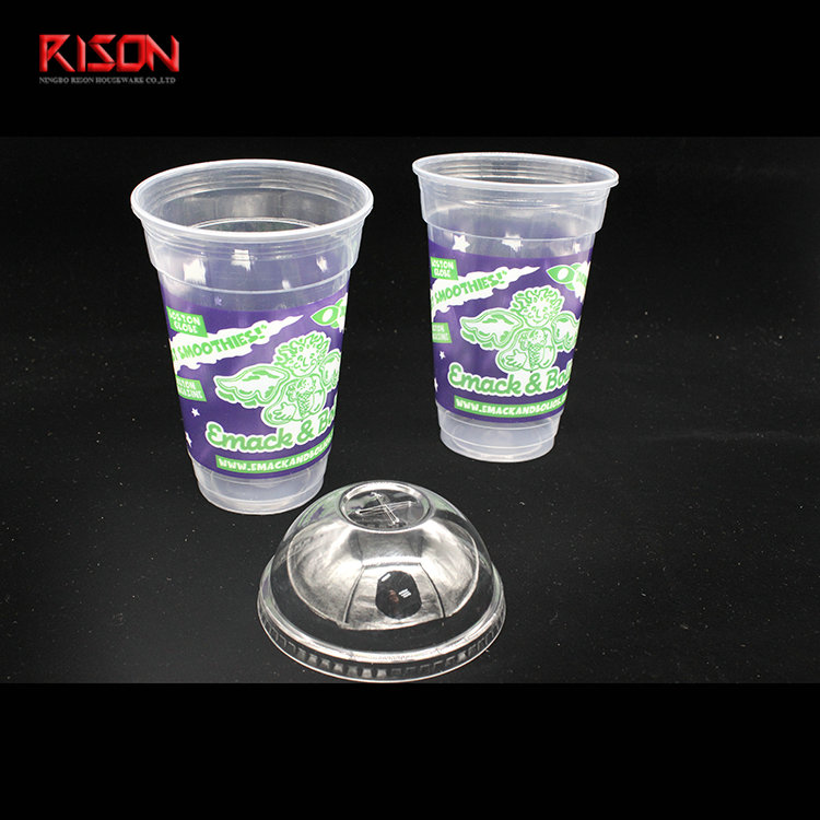 20 oz pp cup with dome lid