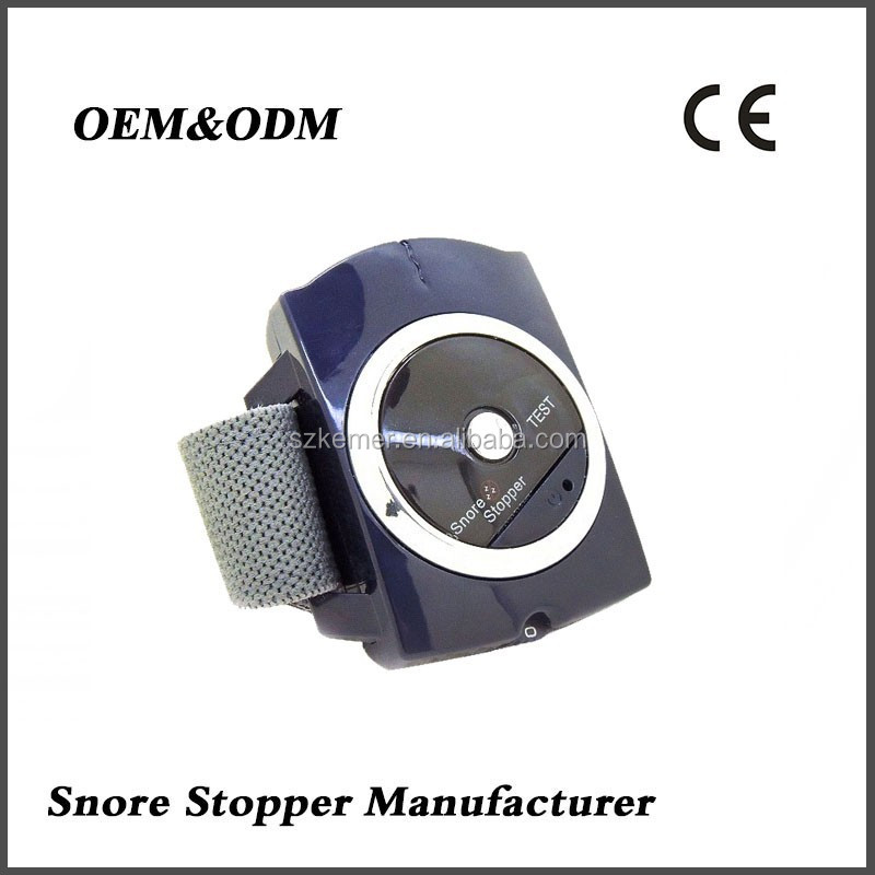 Professional anti-snore apparatus manufacturer production/Quality assurance wrist strap snore stopper
