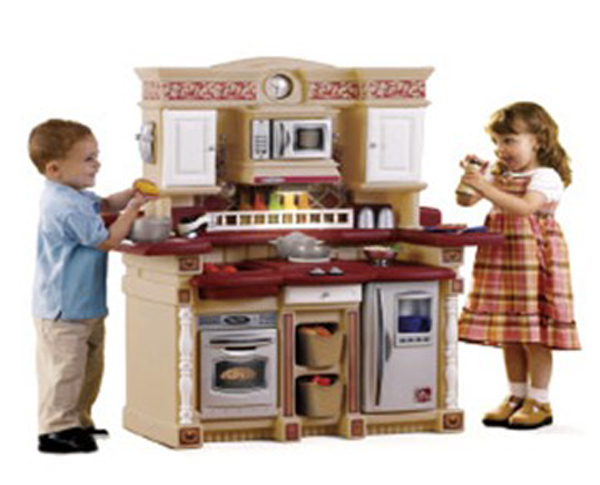 New design children mini kitchen set toy kitchen toy set for Toy kitchen set
