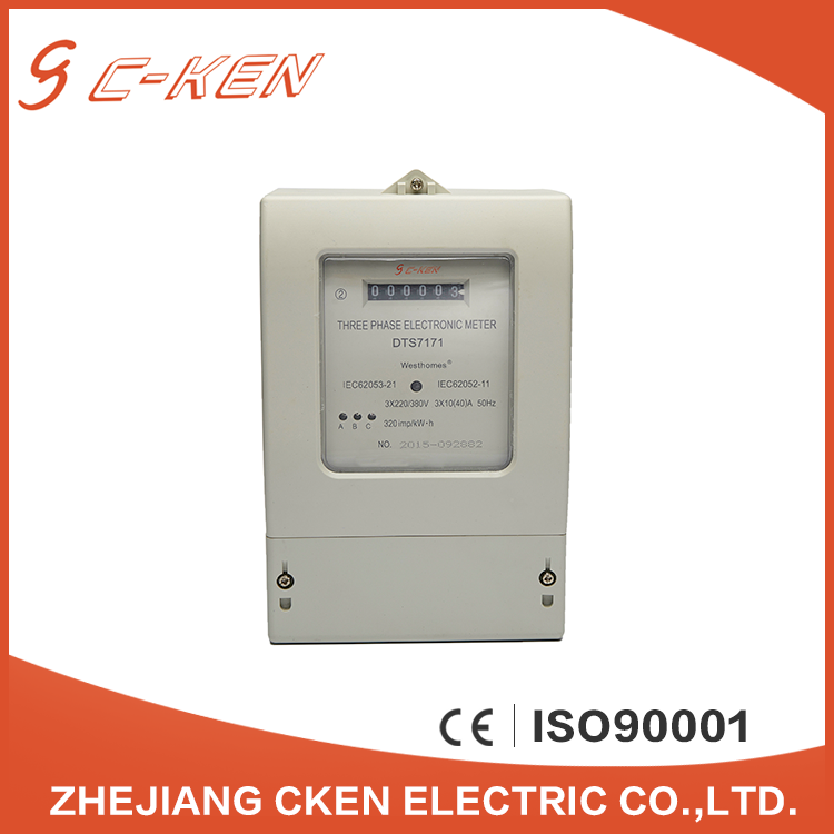 Cken DLMS/COSEM Clamp Design Prepaid Electricity Three Phase Smart Energy Meter