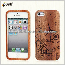 "HOT Sell!!!Good Quality Wood Case Cover For Iphone 5"" Original,Wood Mobile Phone Shell"