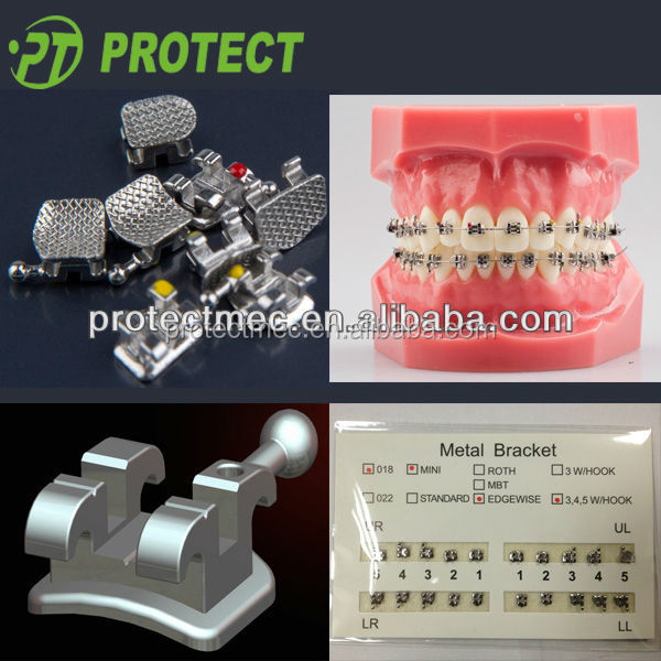 orthodontic metal teeth braces for sale with protect china
