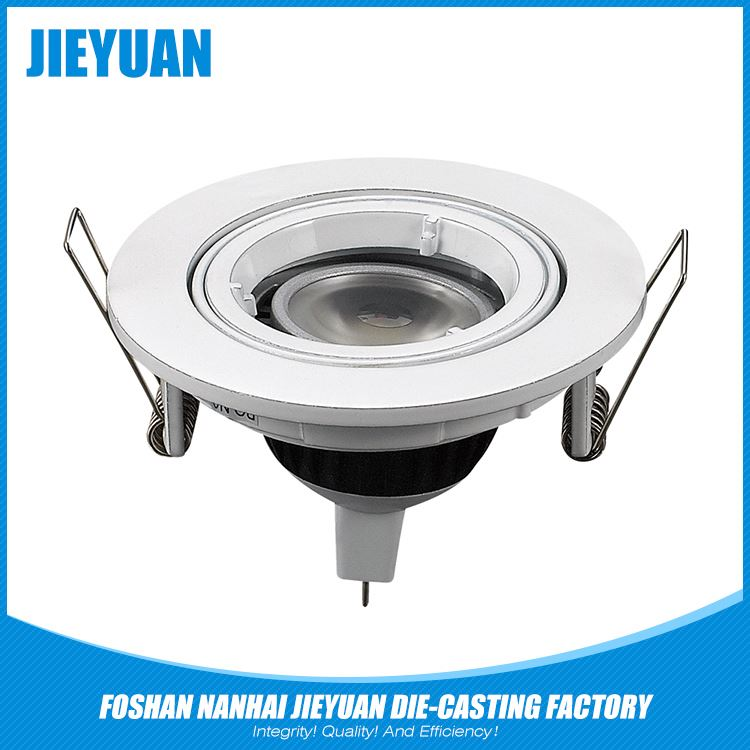 promotional aluminum street die casting recessed led ceiling light shell
