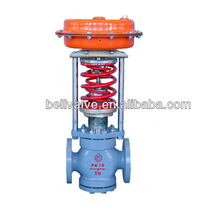 Self operated back pressure control valve