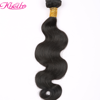 2018 New Type 100% Natural Color Raw Virgin Unprocessed Body Wave Human Hair Weave Bundles Extension In Dubai