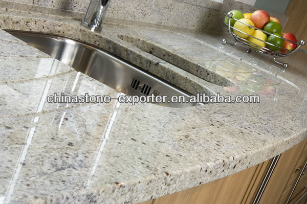 White Granite Kitchen Counter tops