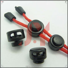 ABS plastic cord lock/plastic stopper/string stopper for bag