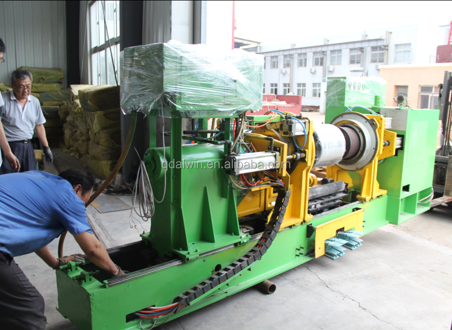BTU bladder turn up tire building make machine