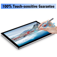 0.3mm thickness, Nuglas premium tablet tempered glass screen protector for new microsoft surface Pro5 / Pro4 , 12.3 inch 2017