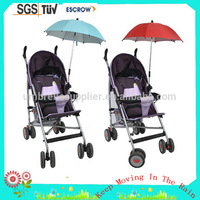 UV protect Baby stroller clamp umbrella for baby