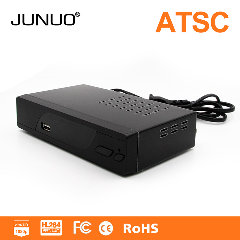 New Hot 2016 atsc tv box set top box receiver 1080p support pvr atsc digital box for Mexico