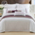 Affordable Cotton Jacquard King Duvet Cover Set 4pcs Hotel Bedding Set For Wholesale