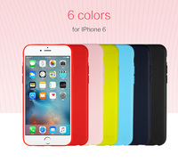 Wholesale silicone cell phone case perfect fit for iphone 6 case