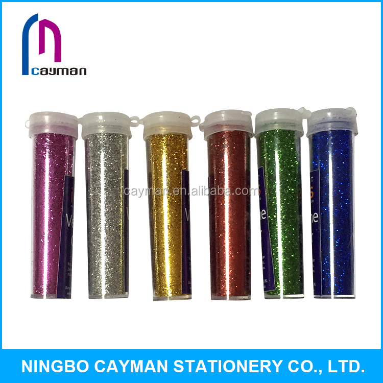 High-quality glitter powder tube for DIY Crafts,7g powder/tube