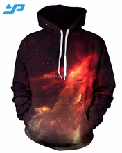 Custom Mens 3D Print Pullover Hoodies All Over Printing Polyester Hooded Sweatshirts