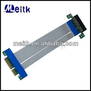 PCI-E 4X Riser Card Extender Ribbon Flex Cable for Bitcoin