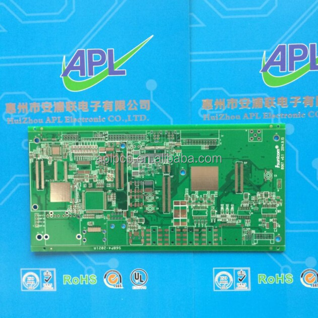 94v0 pcb board with rohs, 2 layer rigid pcb supplier in China