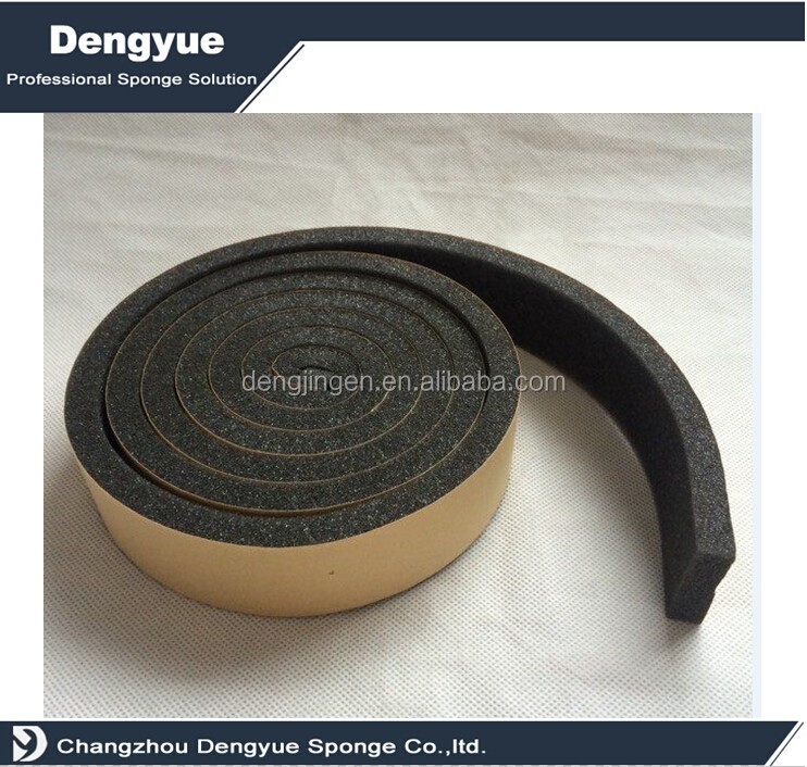 self adhesive foam sealing tape weatherstrip seal for medium Gaps