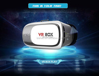 Virtual Reality VR Headset 3D Video Glasses Google Cardboard Plastic Version for 3d Movies Games