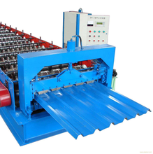 Color tile forming machine