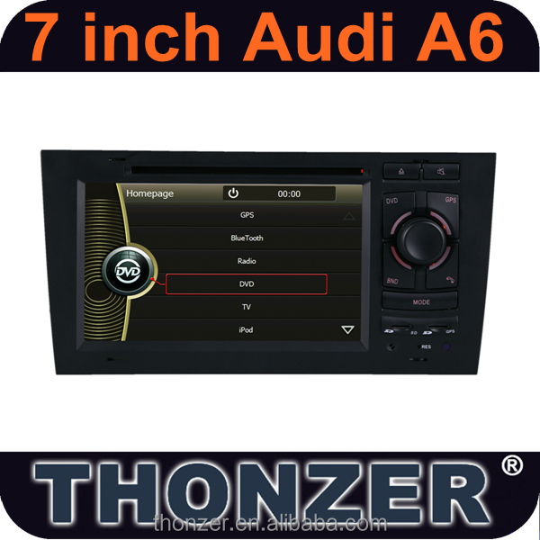 HOT SELL! 7 inch Original CAR DVD Player For Audi A6(1997 to 2004) with CANBUS
