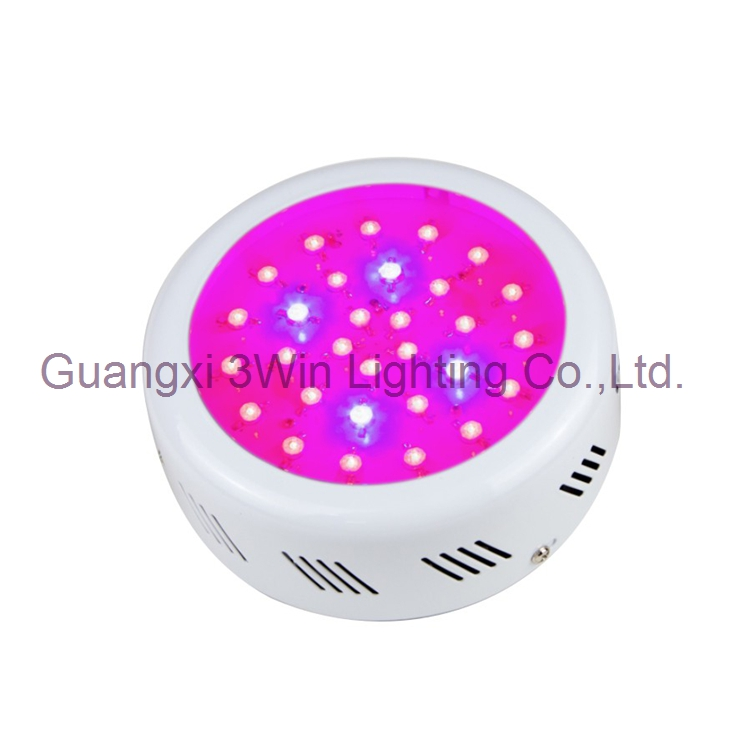 Drop Shipping 90W UFO LED Grow Light Full Spectrum with Epileds 3 watt for Hydroponic Systems, Greenhouses