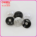 high end imitation pearl button with diamond