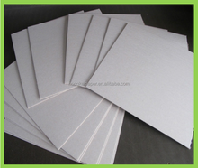China mill directly sale good rigidity 1mm to 4mm grey cardboard paper/grey card board