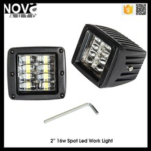 For Automobiles LED Track Lighting Pods 16w 4 ROW LED Lights