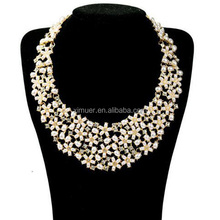 Wholesale popular pearl necklace costume jewelry