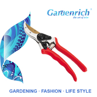 RG1381T Gardenrich high quality handheld bonsai scissors branch trimming cutter factory of sharp garden pruners